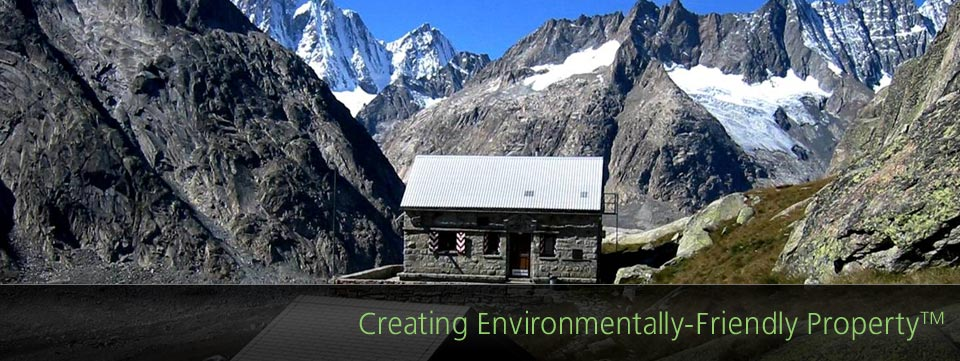 creating environmentally-friendly property